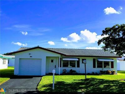 Plantation Single Family Home For Sale: 8228 NW 13th St