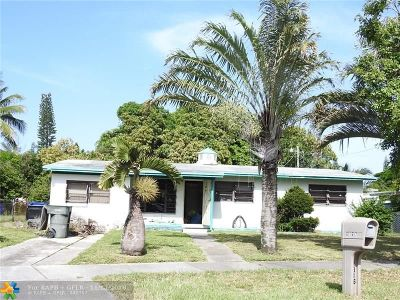Fort Lauderdale Single Family Home For Sale: 1816 NW 16th Ave