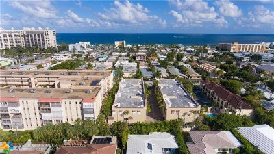 Lauderdale By The Sea Condo/Townhouse For Sale: 4625 Poinciana St #10B
