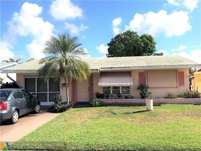 Tamarac Single Family Home For Sale: 4938 NW 47th Ter