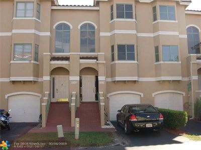 Sunrise Condo/Townhouse For Sale: 12630 NW 14th Pl #12630