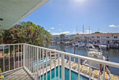 Pompano Beach Condo/Townhouse For Sale: 2400 NE 16th St #209