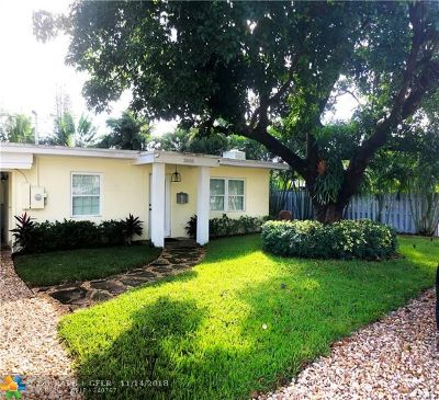 Wilton Manors Single Family Home For Sale: 2608 NE 9th Ave