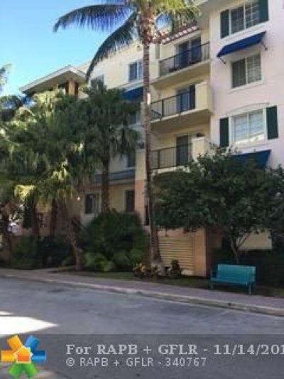 Delray Beach Condo/Townhouse For Sale: 255 NE 3 Av #2507