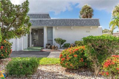 Tamarac FL Single Family Home For Sale: $305,000
