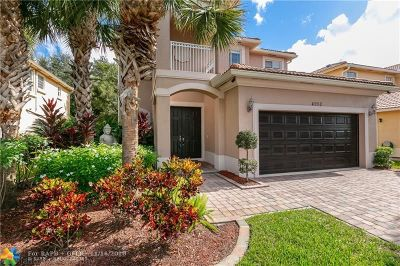 Coconut Creek Single Family Home For Sale: 4950 Cypress Way