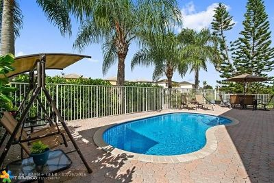 Coral Springs Single Family Home For Sale: 3412 NW 110th Way