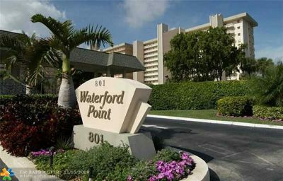 Pompano Beach Condo/Townhouse For Sale: 801 S Federal Hwy #804