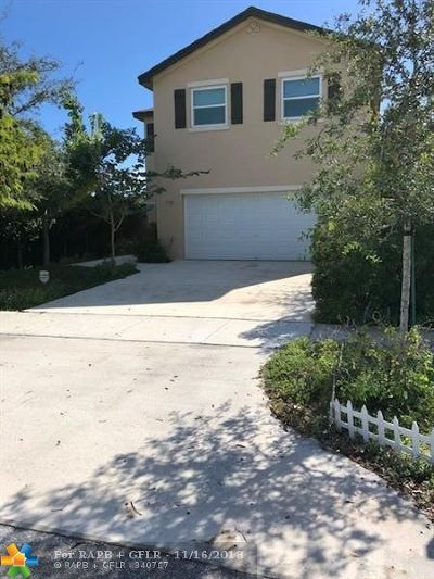 Boynton Beach Single Family Home For Sale: 116 SW 1st Ave