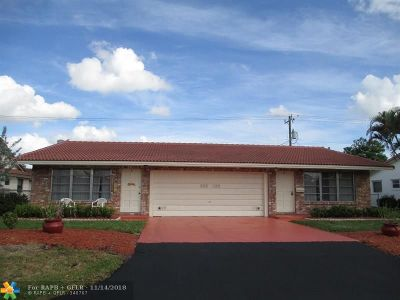 Coral Springs Multi Family Home For Sale: 4103 NW 78th Ter