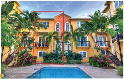 Fort Lauderdale Condo/Townhouse For Sale: 506 SE 7th St #304
