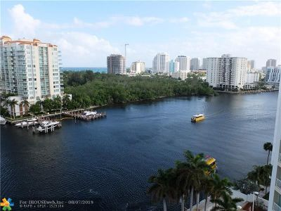 Fort Lauderdale Condo/Townhouse For Sale: 2670 E Sunrise Blvd #PH 1423