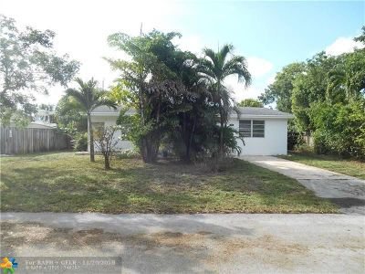 Pompano Beach Single Family Home For Sale: 2931 NE 11th Ter