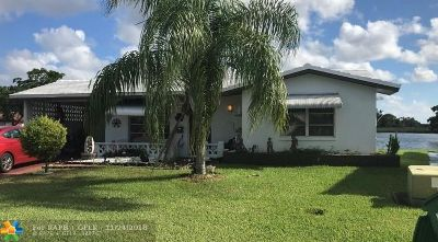 Tamarac Single Family Home For Sale: 5812 NW 81st Ave