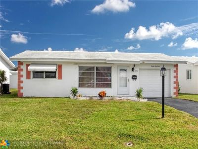 Pompano Beach Single Family Home For Sale: 2960 E Golf Blvd