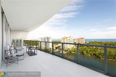 Fort Lauderdale FL Condo/Townhouse For Sale: $1,825,000