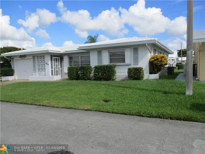 Tamarac Single Family Home For Sale: 4908 NW 43rd Ave