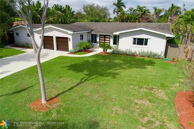 Coral Ridge, Coral Ridge 21-50 B, Coral Ridge Add, Coral Ridge Country Club Single Family Home For Sale: 2541 NE 35th Drive