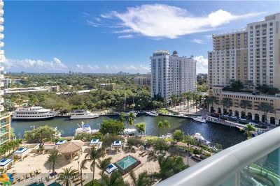 Fort Lauderdale Condo/Townhouse For Sale: 347 N New River Dr #1201