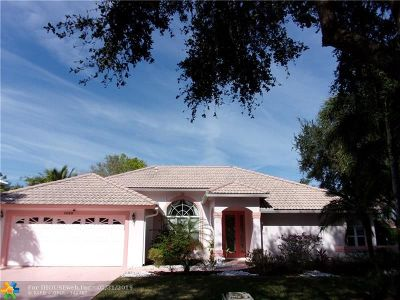 Jupiter Single Family Home For Sale: 1080 Egret Cir
