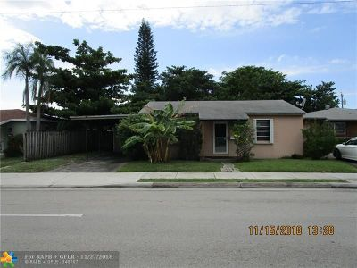 Fort Lauderdale Single Family Home For Sale: 1333 N Andrews Ave