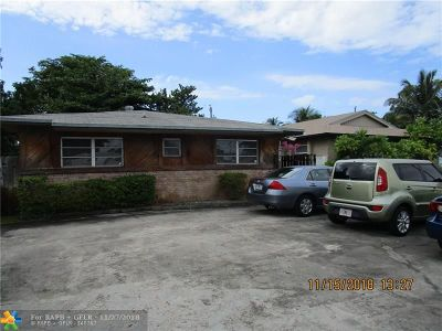 Fort Lauderdale Multi Family Home For Sale: 1335 N Andrews Ave
