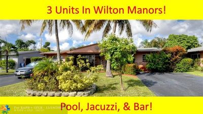 Wilton Manors Multi Family Home Backup Contract-Call LA: 817 NW 30th Ct