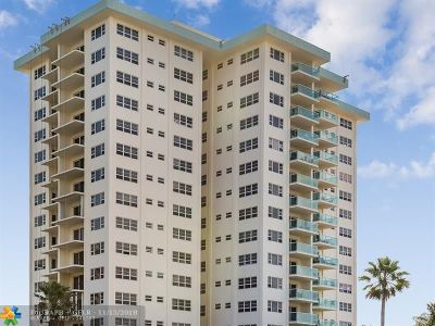 Lauderdale By The Sea Condo/Townhouse For Sale: 6000 N Ocean Blvd #14H