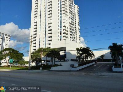 Pompano Beach Condo/Townhouse For Sale: 1360 S Ocean #1403