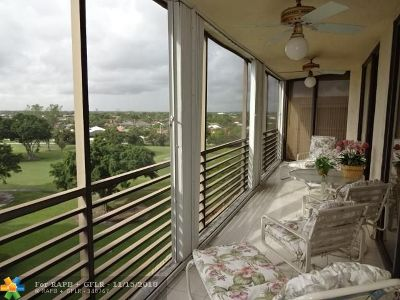Lauderhill Condo/Townhouse For Sale: 7300 Radice Court #802