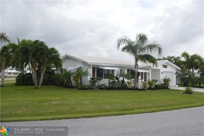 Boynton Beach Single Family Home For Sale: 1602 SW 17th Ter
