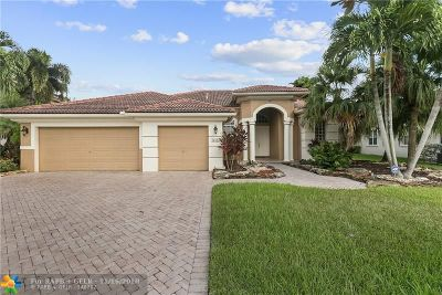 Coral Springs FL Single Family Home For Sale: $550,000