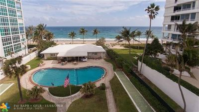 Lauderdale By The Sea Single Family Home For Sale: 1431 S Ocean Blvd #80