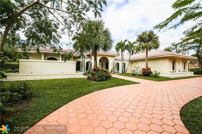 Coral Springs Single Family Home For Sale: 5200 Whisper Dr