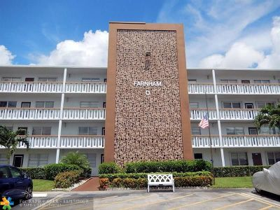 Deerfield Beach Condo/Townhouse For Sale: 2031 Farnham O #2031