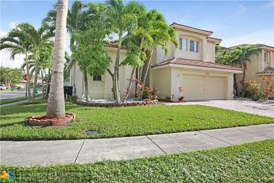 Coral Springs Single Family Home For Sale: 4765 NW 122nd Dr