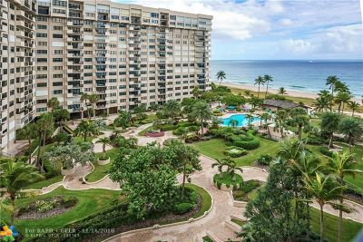 Lauderdale By The Sea Condo/Townhouse For Sale: 5000 N Ocean Blvd #804