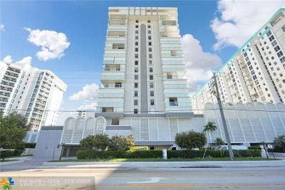 Pompano Beach Condo/Townhouse For Sale: 1000 S Ocean Blvd #9P