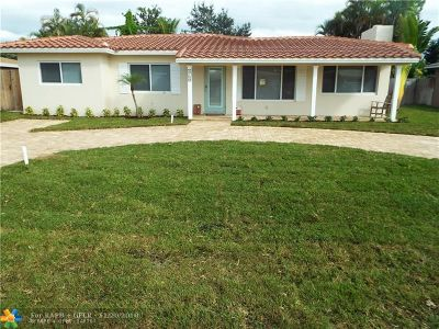 Oakland Park Single Family Home Backup Contract-Call LA: 4760 NE 2nd Ter
