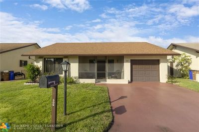 Deerfield Beach Single Family Home For Sale: 1959 SW 15th Ct