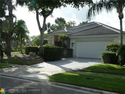 Boca Raton FL Single Family Home For Sale: $104,900