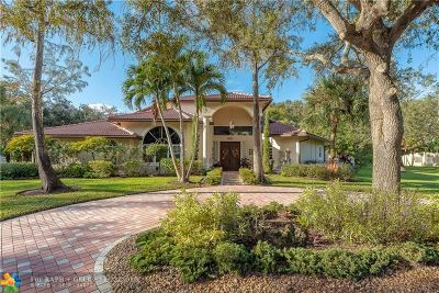 Parkland Single Family Home For Sale: 8351 NW 62nd Pl