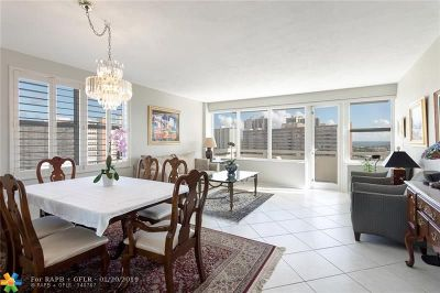 Fort Lauderdale FL Condo/Townhouse For Sale: $285,000