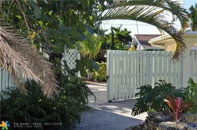 Wilton Manors Rental For Rent: 1909 NE 26th Dr