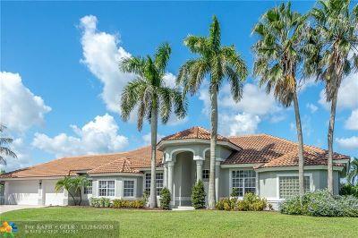 Palm Beach Gardens Single Family Home For Sale: 11875 Dunbar Ct
