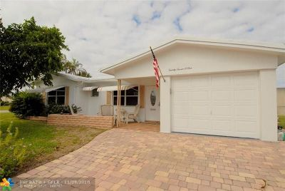 Pompano Beach Single Family Home For Sale: 2701 NW 4th Ave