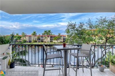 Pompano Beach Condo/Townhouse For Sale: 801 S Federal Hwy #317
