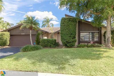 Sunrise FL Single Family Home For Sale: $355,000