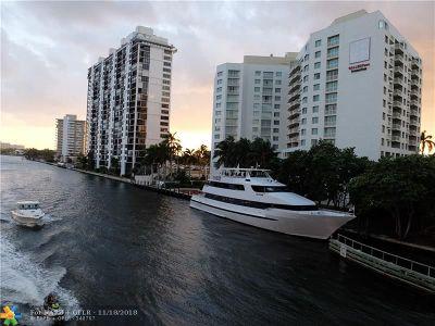 Fort Lauderdale Condo/Townhouse For Sale: 2670 E Sunrise Blvd #905