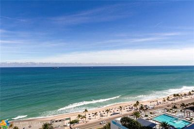 Fort Lauderdale Condo/Townhouse For Sale: 505 N Fort Lauderdale Beach Blvd #1809